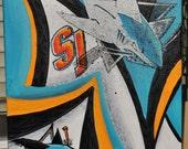 San Jose Sharks Fine Art