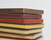 Wood Business Card Holder (Walnut)