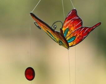 Summer sale 20%Off coupon code: SUMMERSALE2017   Butterfly Suncatcher