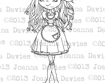 Mary Janes Digital Stamp
