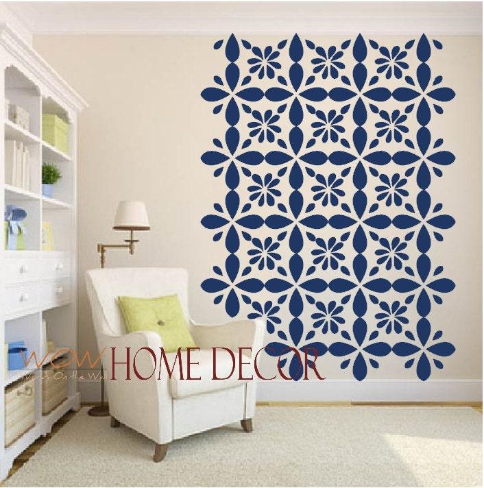 vinyl wall decal sticker art moroccan geometric by moroccan wall decals m wall decal