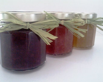 Dessert SAUCE SAMPLER 12 oz Pack of 3/  4 OZ Each/  Treasury Item