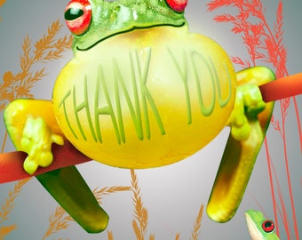 Unique Thank You Greeting Card: Irrepressible Gratitude