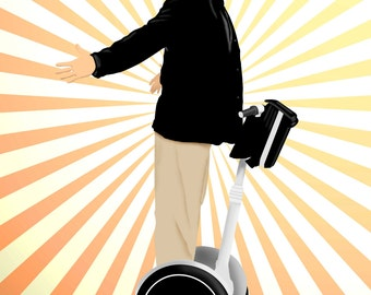 "Arrested Development Gob Segway 11"" x 14"" Print"