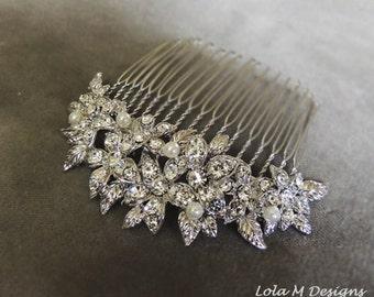 bridal hair accessories, bridal hair comb, wedding hair accessories, wedding hair comb- Made to order