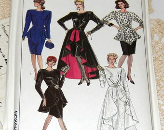 1980s Simplicity Pattern - 8899 - Size 8/36 or Size 12/40 - Uncut Complete