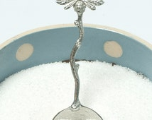 Pewter Bee spoon gifts, beekeepers gifts UK made by Glover and Smith