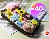 40% off crazy SALE- kawaii fake food iphone4/4s cover , unique & handmade iphone4/4S case , Japanese deco