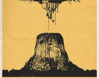 "Close Encounters of the Third Kind 11x17"" Movie Poster"