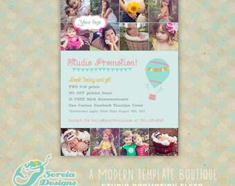 Studio Promotion Flyer Photoshop PSD Template - S0051