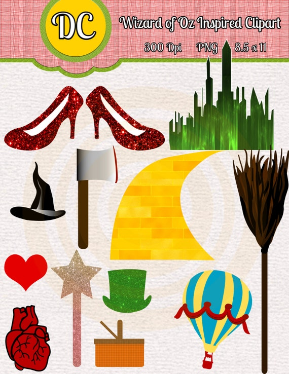 Items similar to Wizard of Oz Instant Download Inspired ...