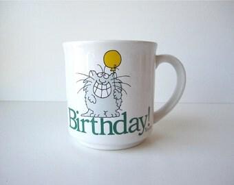 Vintage Sandra Boynton Birthday Mug
