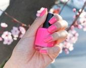 cherry blossom Nail Polish, pink nail polish, sakura polish