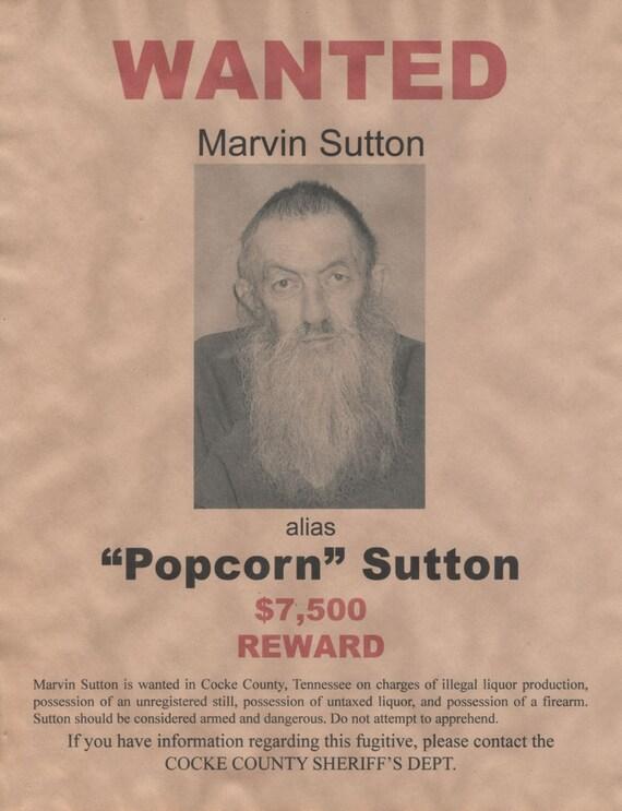 Moonshiners Popcorn Moonshiner Popcorn Sutton