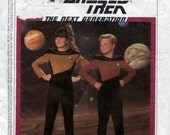 Star Trek  The Next Generation - Simplicity 9397 - Kids Size 7 to 12 Halloween Costume Sewing Pattern
