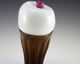 Giant Blown Glass Ice Cream Cone