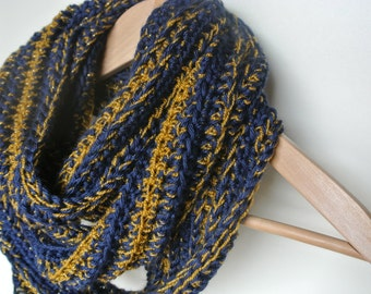 Notre Dame Inspired Infinity Scarf