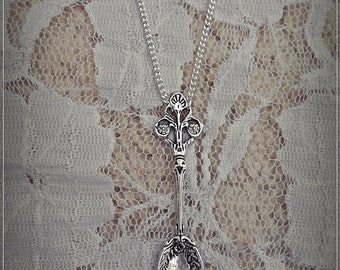 Victorian Style Tea Spoon Necklace