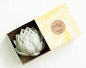 Lavender Lotus Soap - Natural, Handmade, Cold Processed, Vegan
