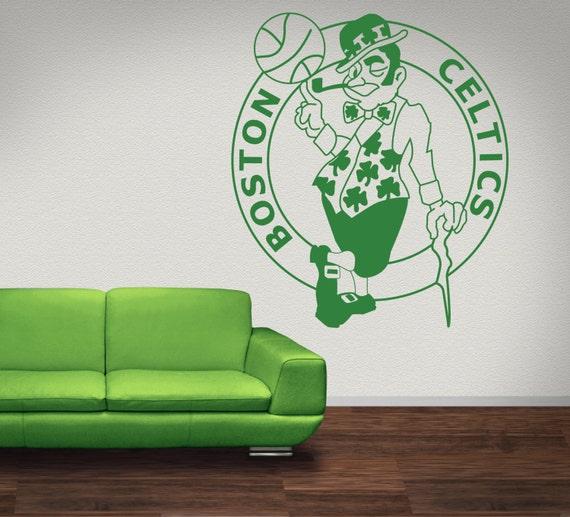 Boston Celtics Premium Removable Wall Art Decor By Signs4half