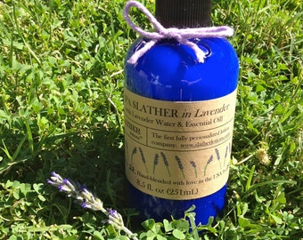 SLATHER SPA with Lavender Water & Essential Oil (Natural Body Lotion)
