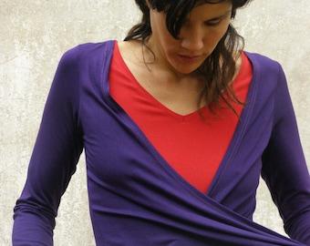 Wrap blouse | Etsy