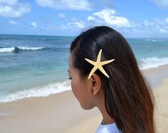 Starfish Mermaid Hair Clip - Mermaid Accessories, Wedding Hair Clip, Beach Wedding, Ariel Mermaid Hair Accessories, Beach Accessory