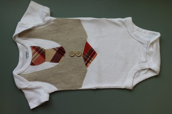 Baby Boy Tie and Vest linen vest summer outfit dress up