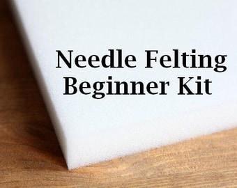 Needle Felting Kit - Needle Felting Starter Kit - Beginner Kit - Needle Felt Tools - Felting Tools - Needle Felting Starter - DIY Kit
