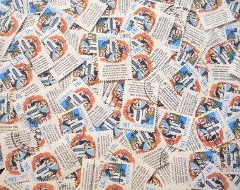 Australian Christmas Carol Stamps x 10