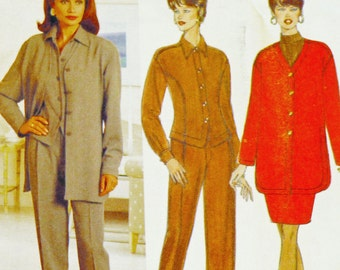Butterick 4008 Sewing Pattern Linda Allard for Ellen Tracy