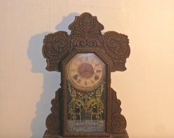 Antique Ingraham Parlor / Mantel Clock
