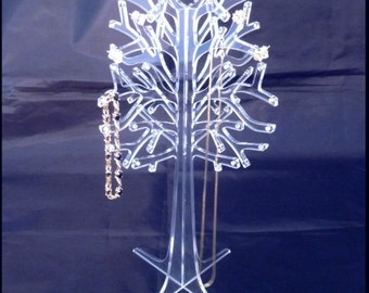 Clear Acrylic Jewellery Stand
