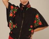 Sweat poncho  cape folklore