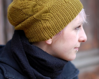 Buttercup Beret Knitting Pattern : Banded Beret IJ931 INDYGO JUNCTION- New Sewing Pattern- Adorable! from Knitti...