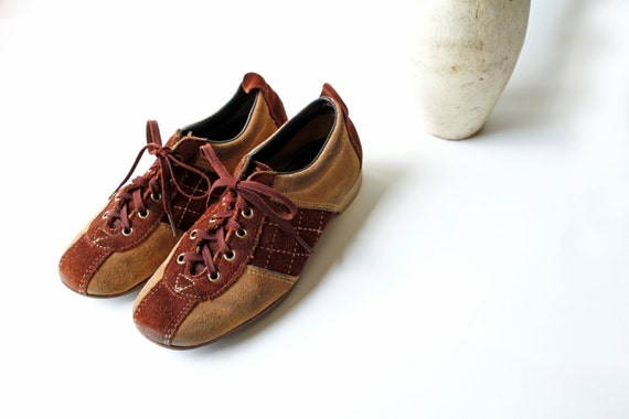 Suede Bowling Shoes