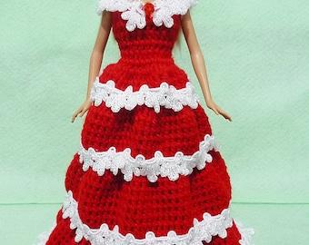 Crocheted Doll Dress 04