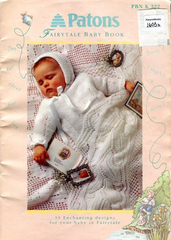 Knitting Books For Babies : Patons fairytale baby book knitting pattern for