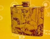 5oz. Recycled Vintage Playboy Flask