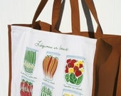 French Canning Jars Farmers Market Bag/Tote - Shopping Bag - Eco-Friendly