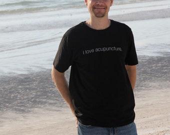 I Love Acupuncture 100% Organic Cotton T-Shirt - Men's