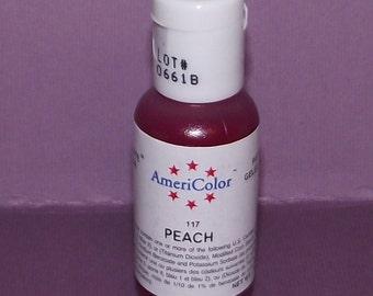 Americolor Gel Paste - Food Color in Peach