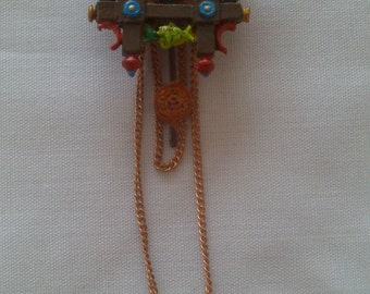 12th Scale dolls house cuckoo clock