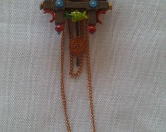 12th Scale dolls house cuckoo clock