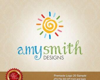 Premade Logo and Watermark, custom business logo - pml-20