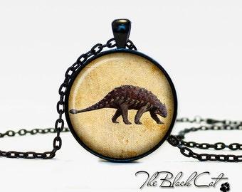 Dinosaur pendant Dinosaur necklace Dinosaur jewelry vintage style (PD005)