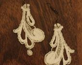 Vintage Lace Dangle Earrings