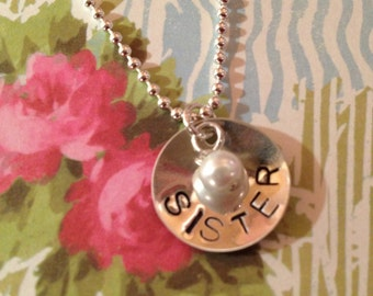 Hand Stamped Sterling Silver Jewelry