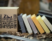 Soap Sampler Gift Set with All-Natural Palm-Free Soap - CraftsmanSoapCo