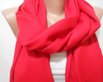 Oversize Pashmina Scarf Cowl Scarf Red Scarf Shawl Christmas Gifts For Her Red Wedding Scarf Bridesmaids Gifts Women Fashion Accessories